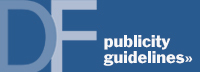 General Publicity Guidelines
